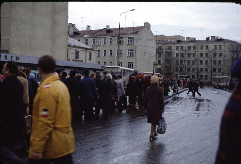 1981.11. Новослободская, место нынешнего ТЦ Дружба