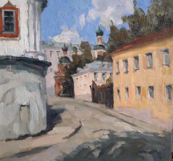 Андрей Кулаков. Москва. Хохловский переулок