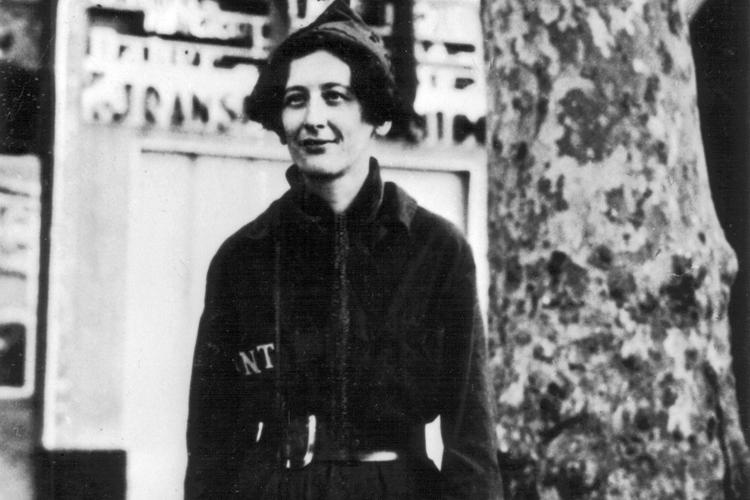 Симона Вейль, 1936