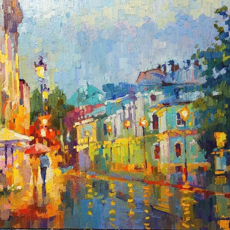 Виктория Чижова. Летний дождь на Покровке. 2020