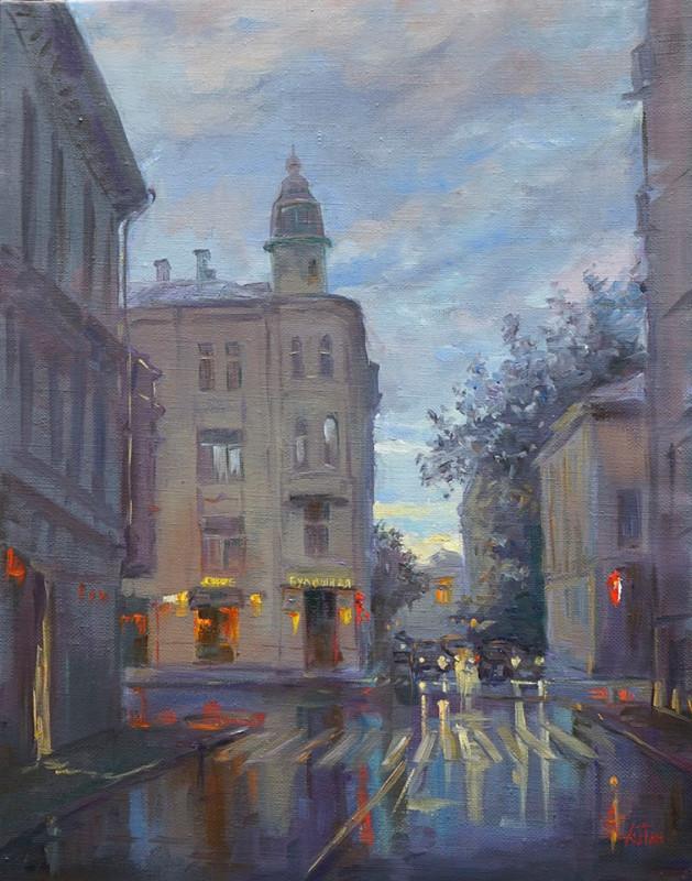 Александр Панюков. После дождя. Лялин переулок