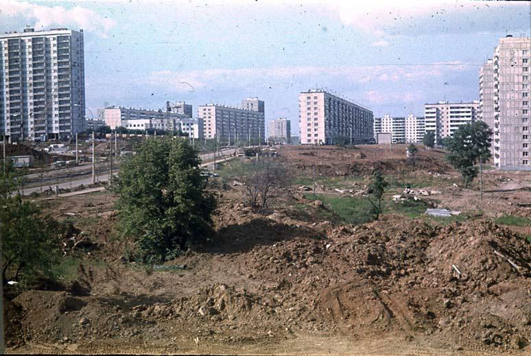 1971_Чертаново. Будущий Парк 30-летия Победы