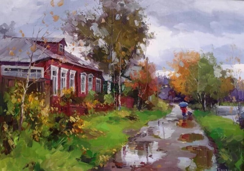 Роман Биляев. Осень