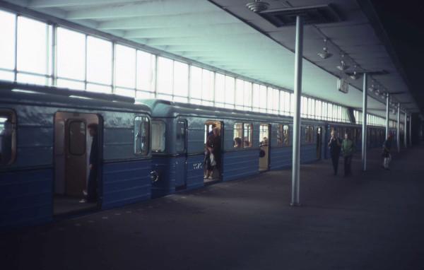 Ленинские горы_1982
