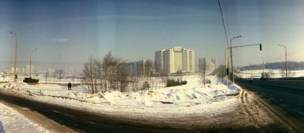 Ленинский проспект. 1982