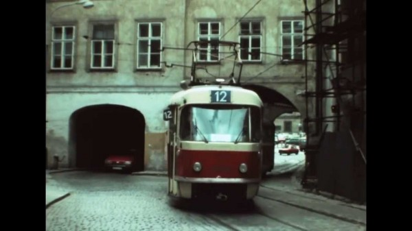 пражский трамвай 1981