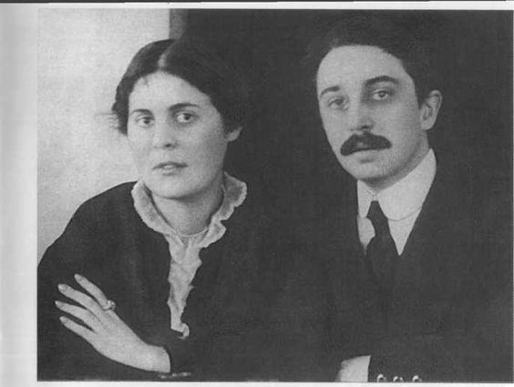 Осип и Лиля Брики