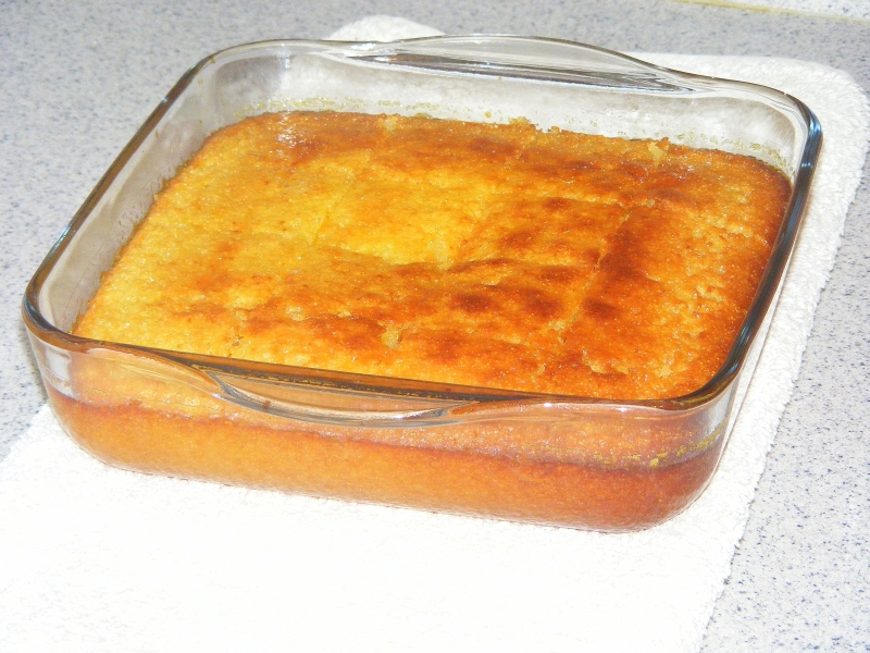 Пирог в стеклянной посуде