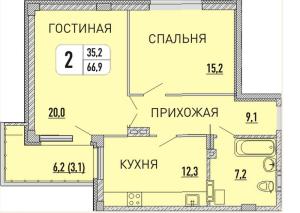 планировка с сайта 1