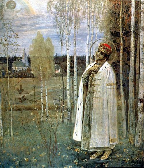 Царевич Дмитрий (худ. Нестеров)