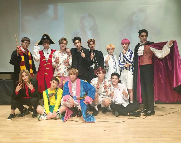 SEVENTEEN not disappointing us once again: halloween edition