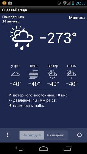 Погода шепчет