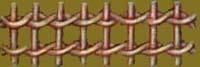 Плетение верёвочкой