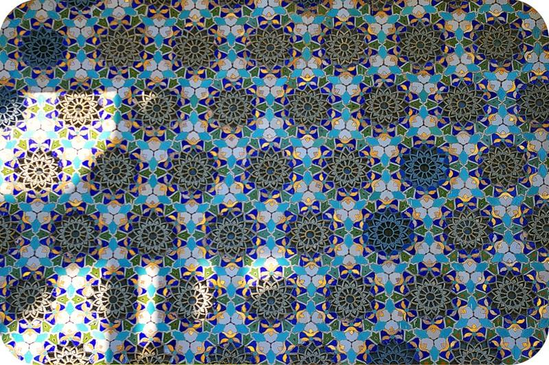 Мозаика на павильоне Культура