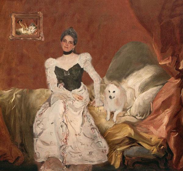 girl and dog8