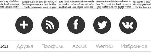 Добавляем в ЖЖ кнопки соцсетей
