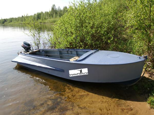 продать моторную лодку казанка