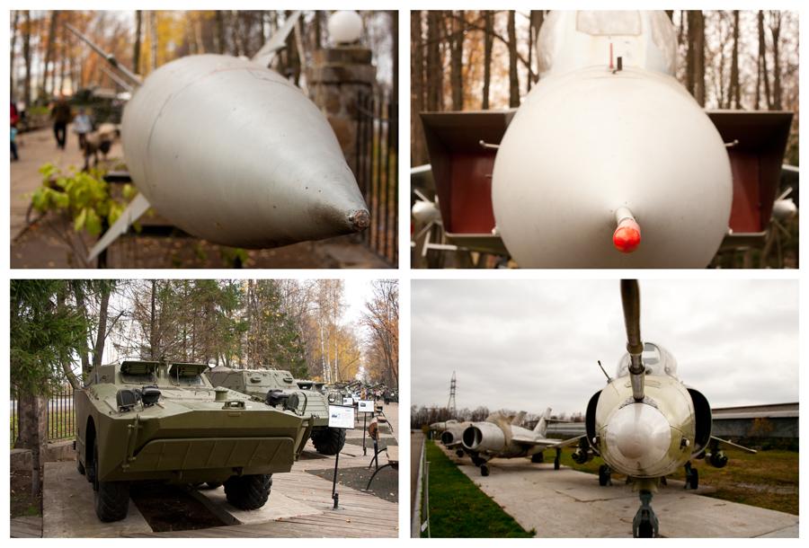 Музей техники Задорожного военнай техника