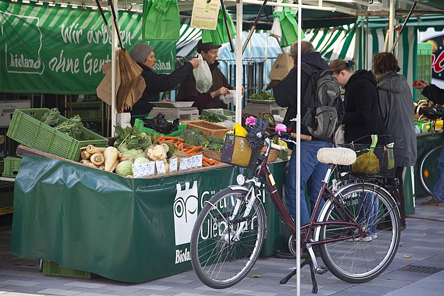 Рынок в Билефельде