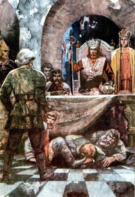 жириновский приносит голову сына