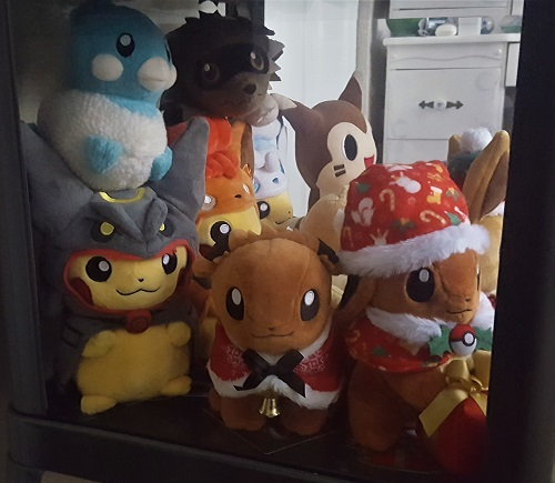 Special Plushes Left-side view