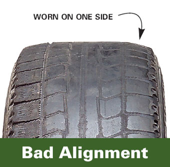 Bad Alignment Wear