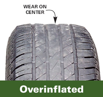 Overinflated Tire