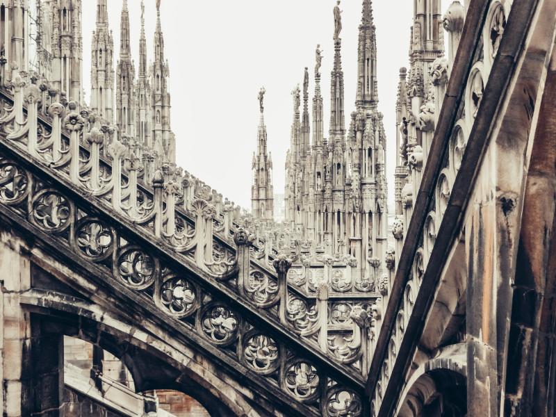 Крыша Дуомо, Милан