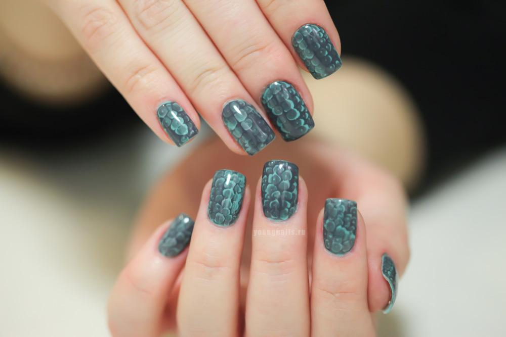 Дизайн ногтей под кожу