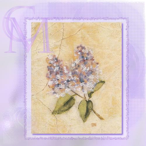 Candamar Designs 51348 - Cheri Blum - Lilac