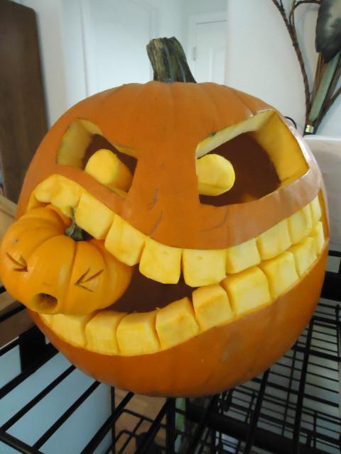 Cannibalistic Pumpkin