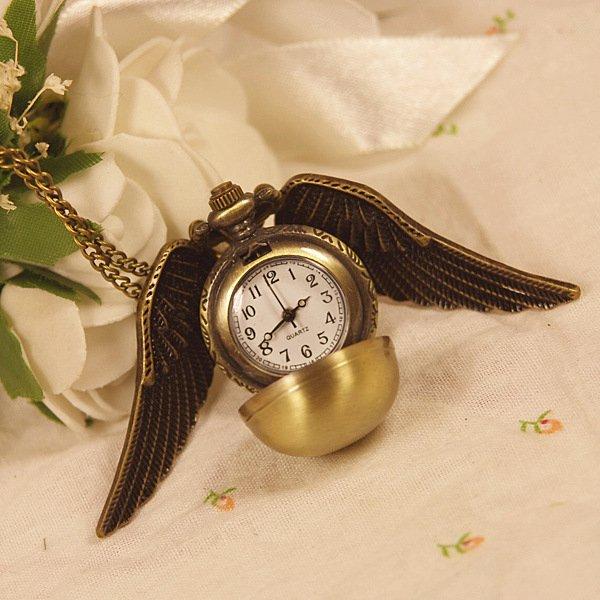 Карманные часы Снитч (бронзовый цвет)