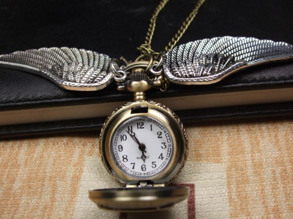 Карманные часы Сова (бронзовый цвет)