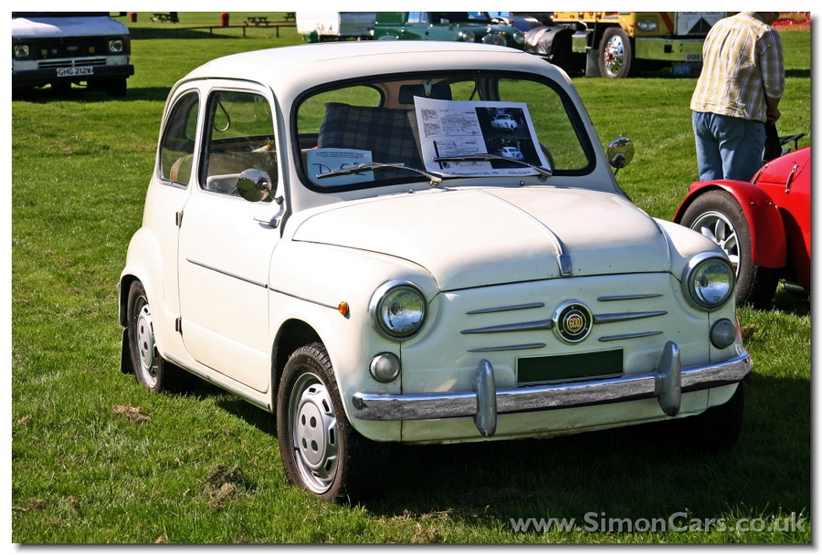 Fiat 600 1960 front