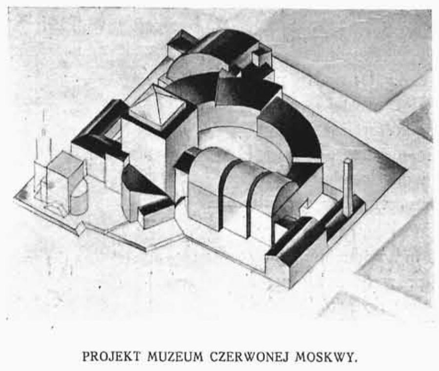 Праект музея Чырвонай Масквы 9