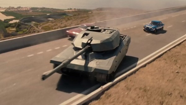 Фарсаж 6 танк 2