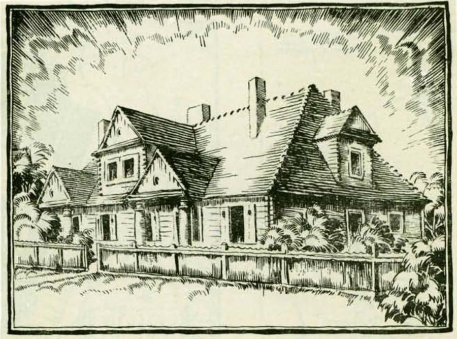 Стоўбцы праект драўлянага дома 1