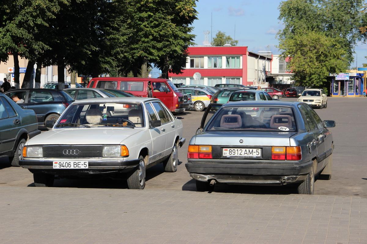 Audi 100 C2 and C3