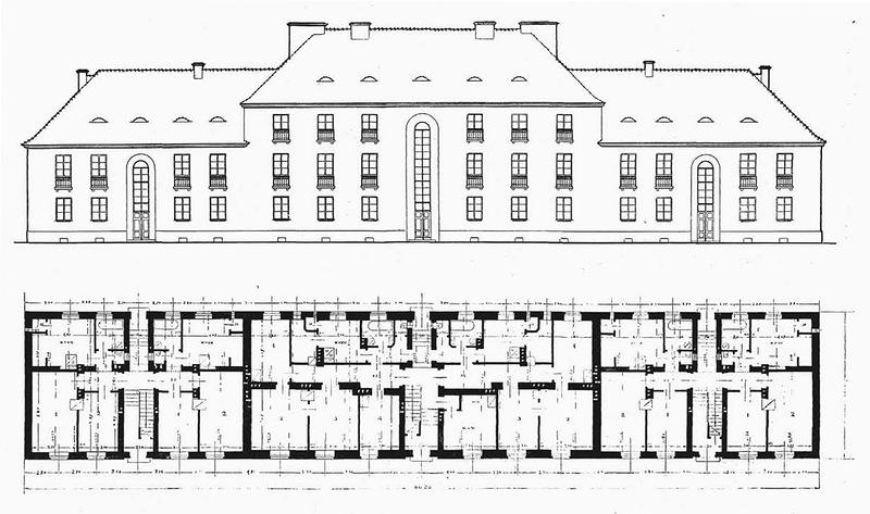 схема из журнала «Budowa domów