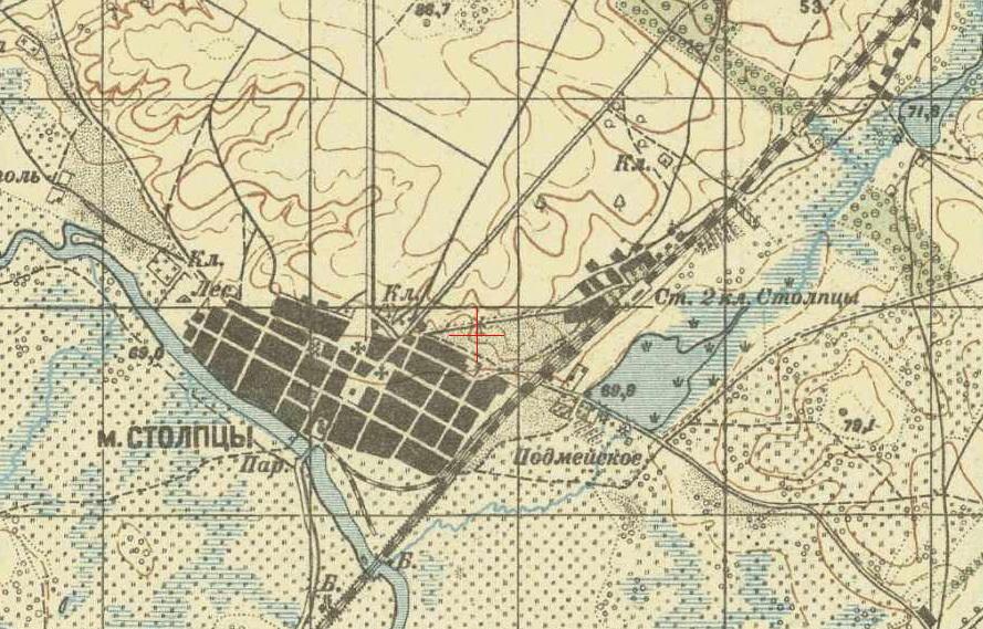 Стоўбцы 1914