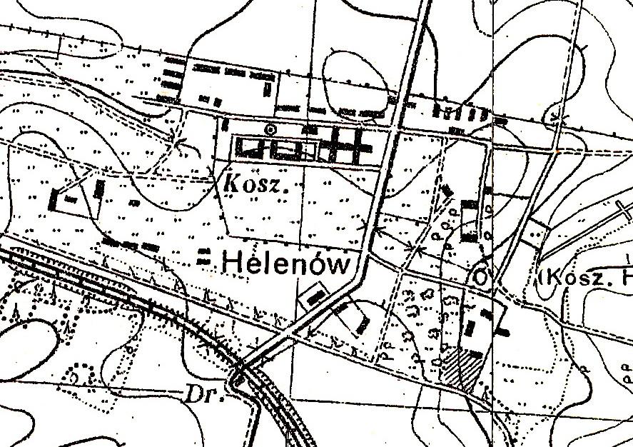 Мапа геленова 1934