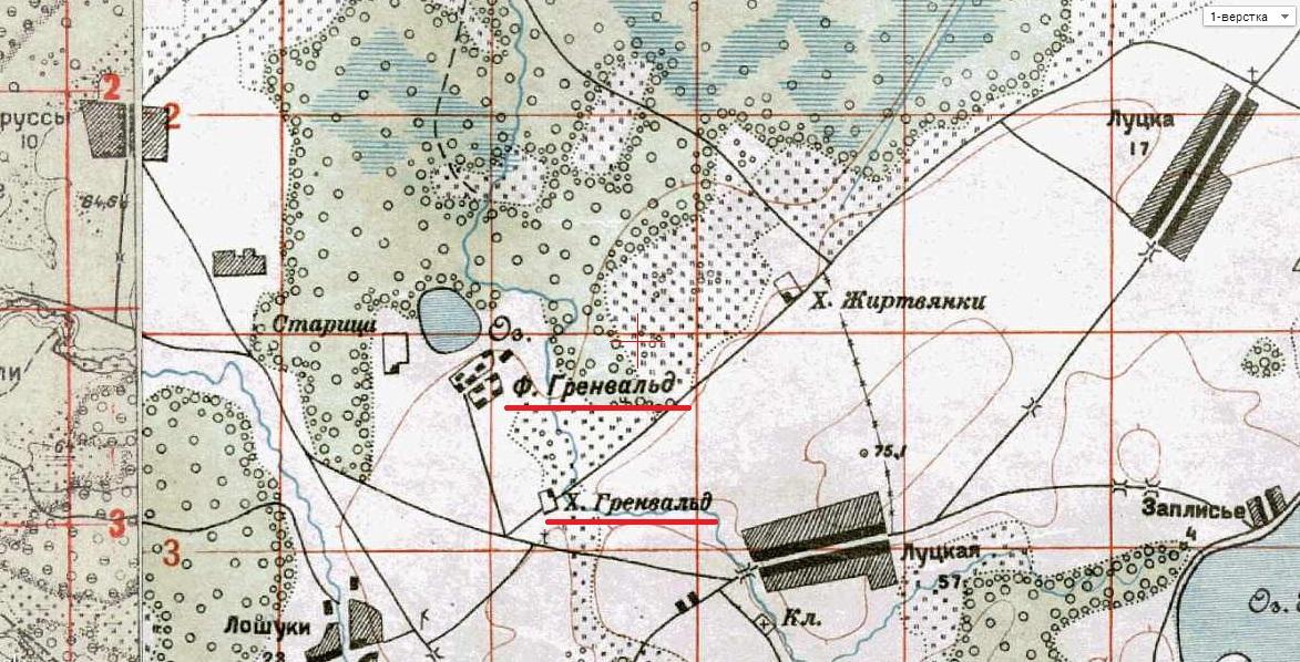 Грунвальды 1900-е