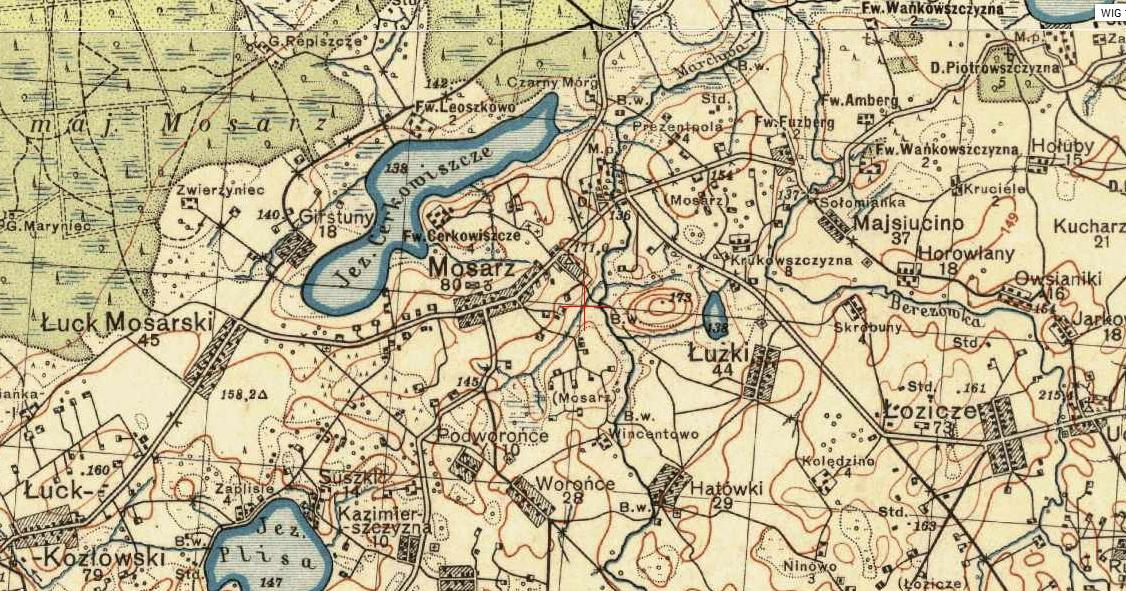 mosarz mapa