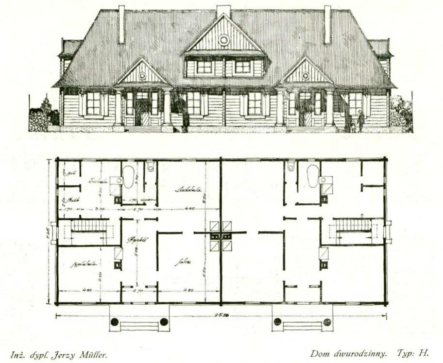 драўляны дом міллер