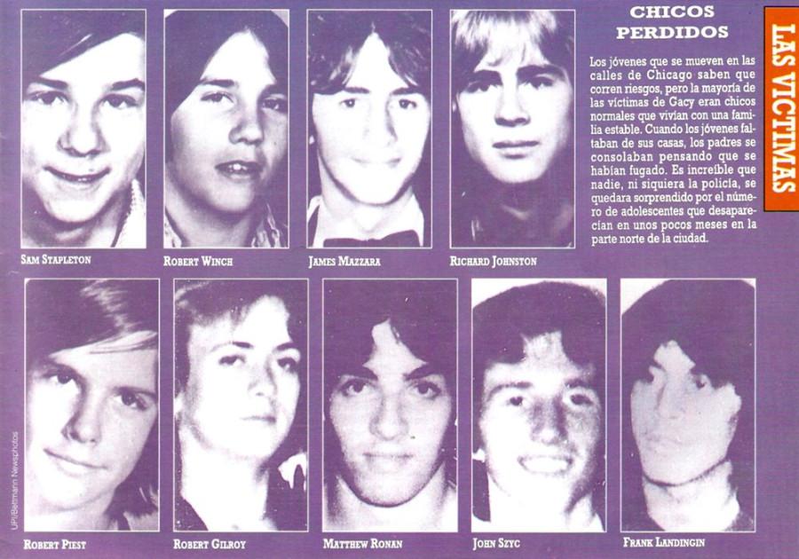 Las víctimas