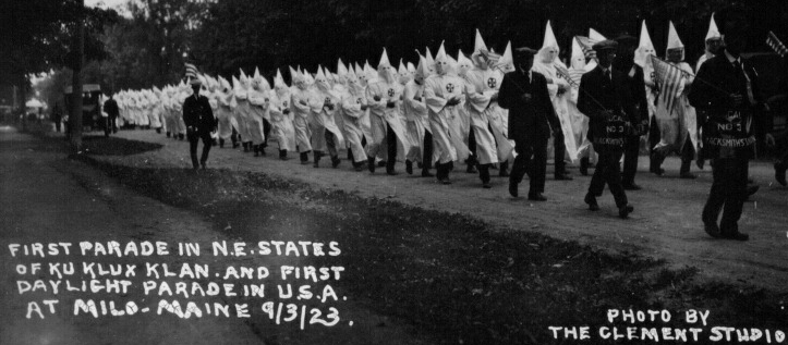 a narrative of the creation of the ku klux klan and its influence on american society
