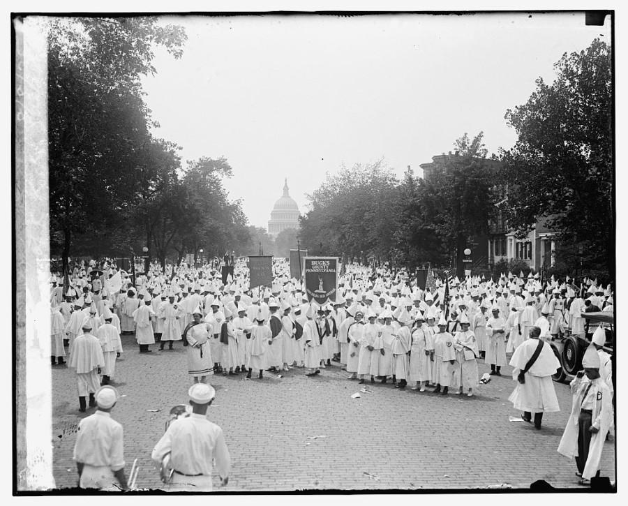 Ku Klux Klan Parades in Washington