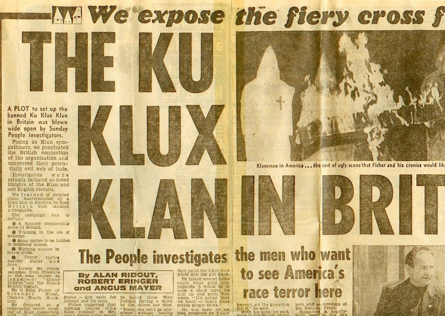 This article appeared in the (UK) Sunday People (front page and center spread) on February 17th, 1980.