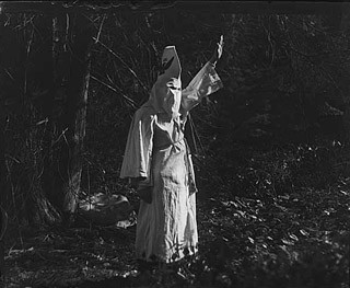 Unidentified Klansmen, c. 1923. Photo Museum of History and Industry