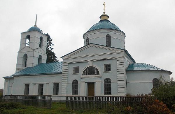 Тихвинская церковь в Потоке
